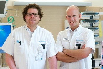 Matthijs Cox and dr. Peter Pickkers, Radboud University Medical Center